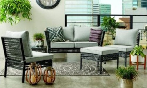Mainstays Ayden Park Wicker Patio Set Review