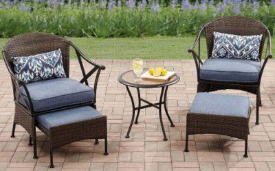 Mainstays Skylar Glen Outdoor Wicker Furniture Sets
