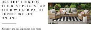 River Oaks patio conversation set