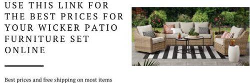 River Oaks Wicker Patio Conversation Set - Outdoor Room Ideas