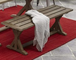 Better Homes & Gardens Camrose outdoor backless benches