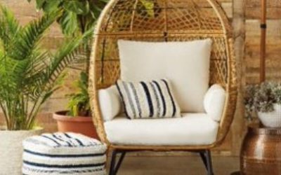 Better Homes & Gardens Ventura Patio Egg Chair