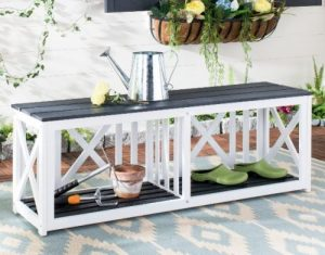 Branco Outdoor Backless Benches