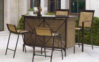 Mainstays Palmerton Landing Outdoor Bar Height Dining Sets