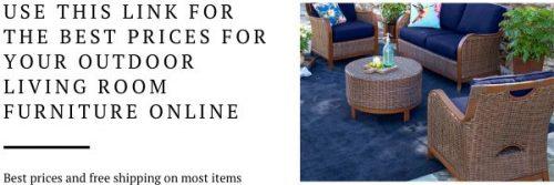 Outdoor livingroom furniture
