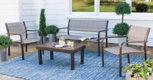 Williston Wicker and Aluminum Seating