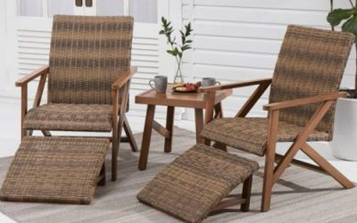 7 Wicker Patio Furniture Sets for two