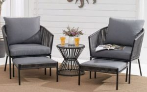 Wicker Patio Furniture Sets-Better Homes and Gardens Brecken Chat Set