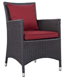 Patio Set with fire pit-Convene patio chair