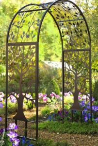 Garden Arbor Ideas-Tree of Life Arbor