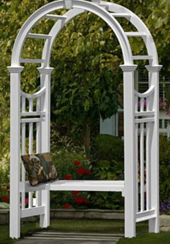 Lets look at 5 Garden Arbor Ideas