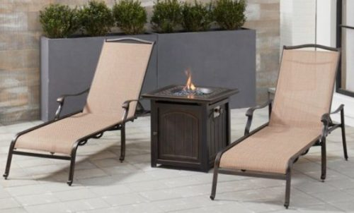 Patio Furniture Sets with a Gas Fire Pit