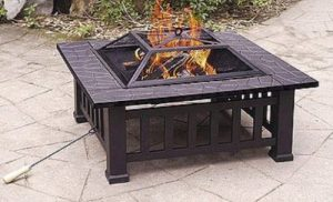 Wood Burning Patio Fire Pits-Axxonn Alhambra square