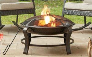 Patio Fire Pit Designs-Owen Park 28-inch round