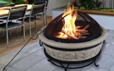 4 Styles of Peaktop Concrete fire pits
