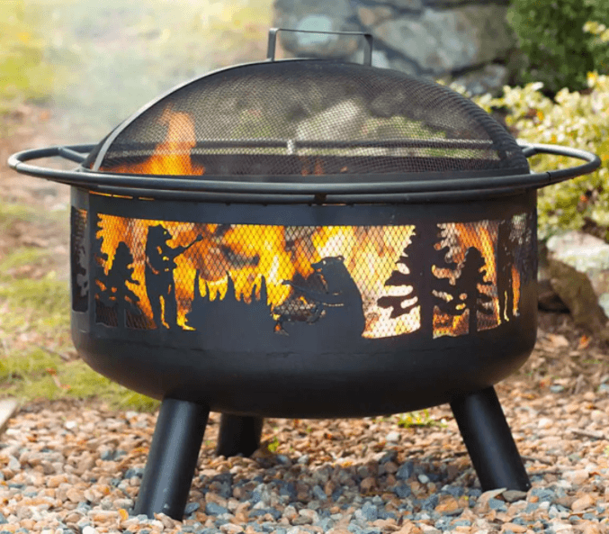 Wood Burning Fire Pits-Bear Camp fire pit