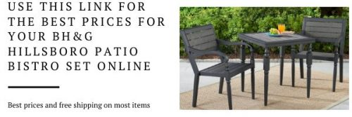 Buy pic for Hillsboro bistro set