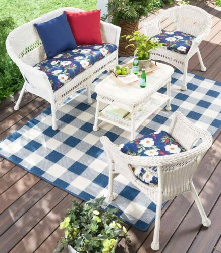 Easy Care White Wicker Patio Furniture Review