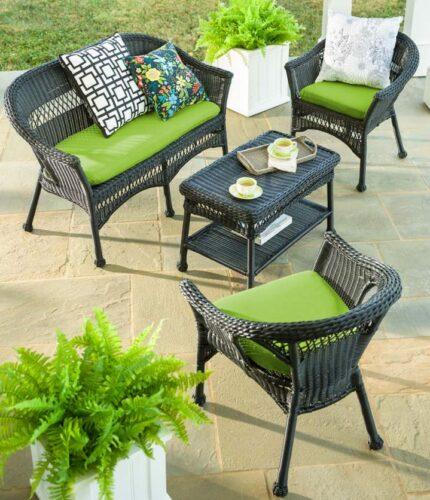 White-Wicker-Patio-Furniture-Easy-Care-in-black