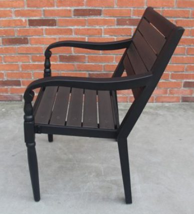 BH & G Hillsboro Bistro Set-Chair side look