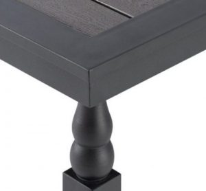 Hillsboro table leg details