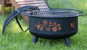 Pine Cone fire pit