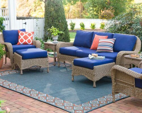 Prospect Hill Wicker Patio Furniture Sets for Seating