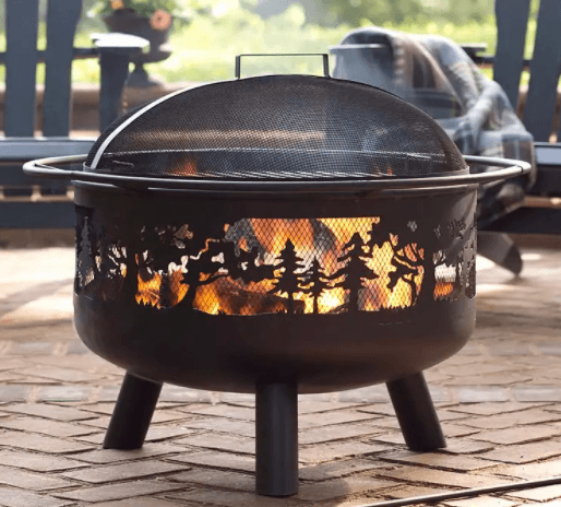 5 Best Wood Burning Fire Pits-Decorative