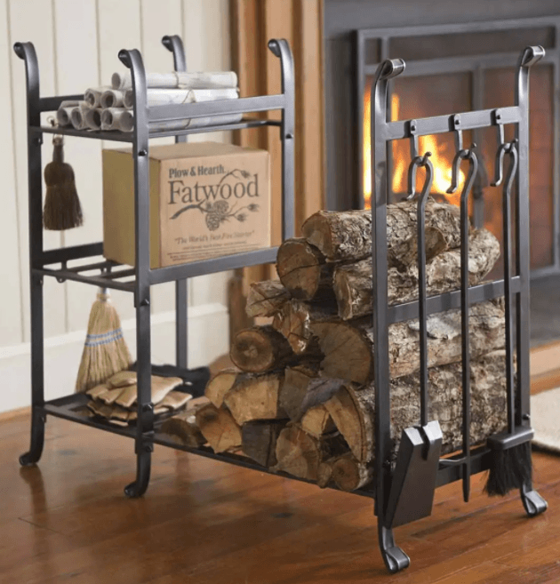 All in One wood rack