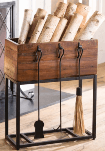 Allegheny Raised box wood rack