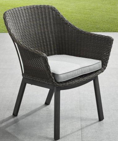 3 piece wicker bistro set-Cason Cove bistro chair
