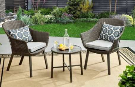 Better Homes & Gardens Cason Cove 3 Piece Wicker Bistro Set Review
