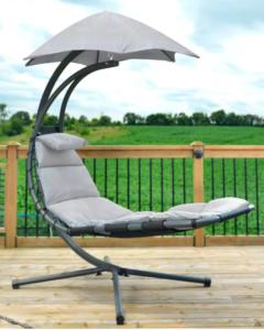 Dream Chair Silver fabric