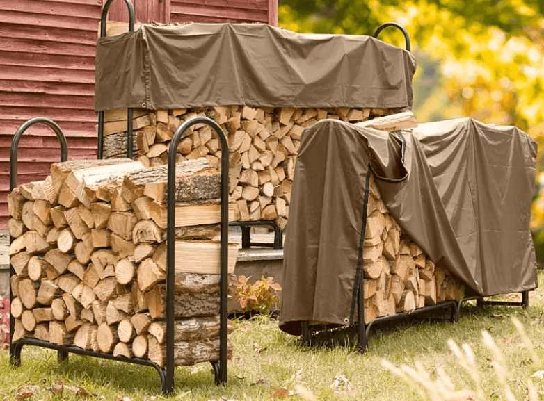Heavy Duty Firewood Rack with Cover Review
