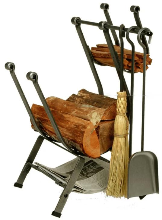 Front Loading log rack