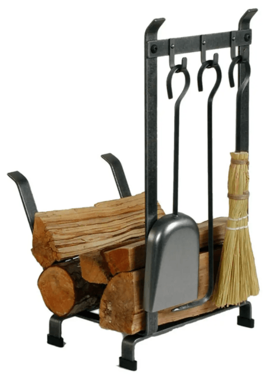 Hammered Country Home log rack
