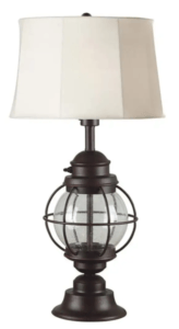Hatteras patio lamp