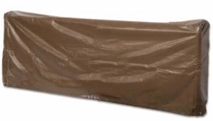 Large log rack cover