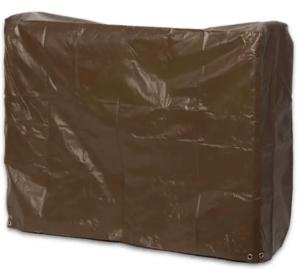 Medium log rack cover