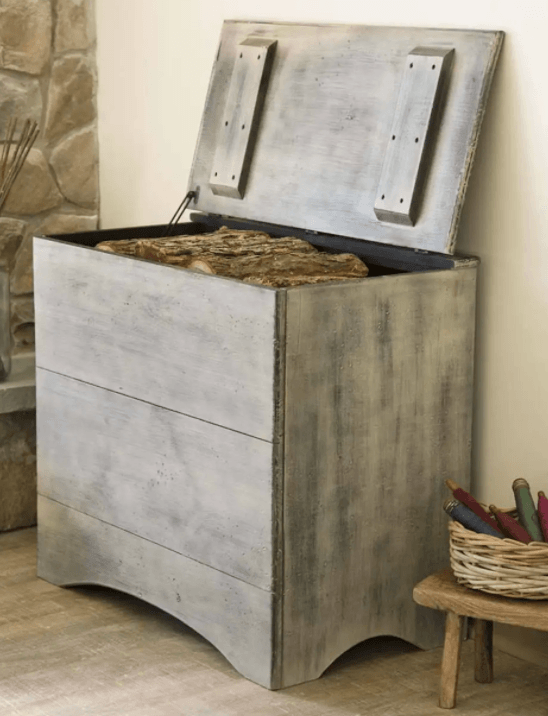 Pine Wood storage box for decks