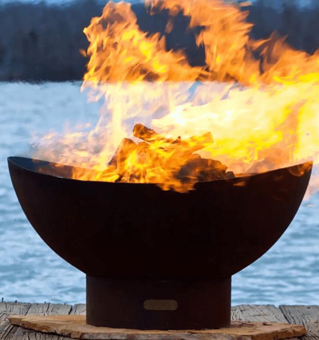 Scallops fire pit