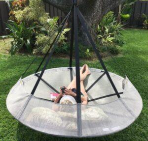 Flying Saucer hanging swing