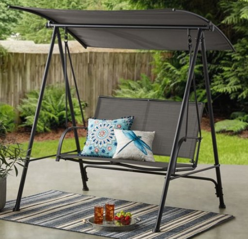 Mainstays Sling swing Black and Gray