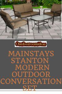Mainstays Stanton Conversation set