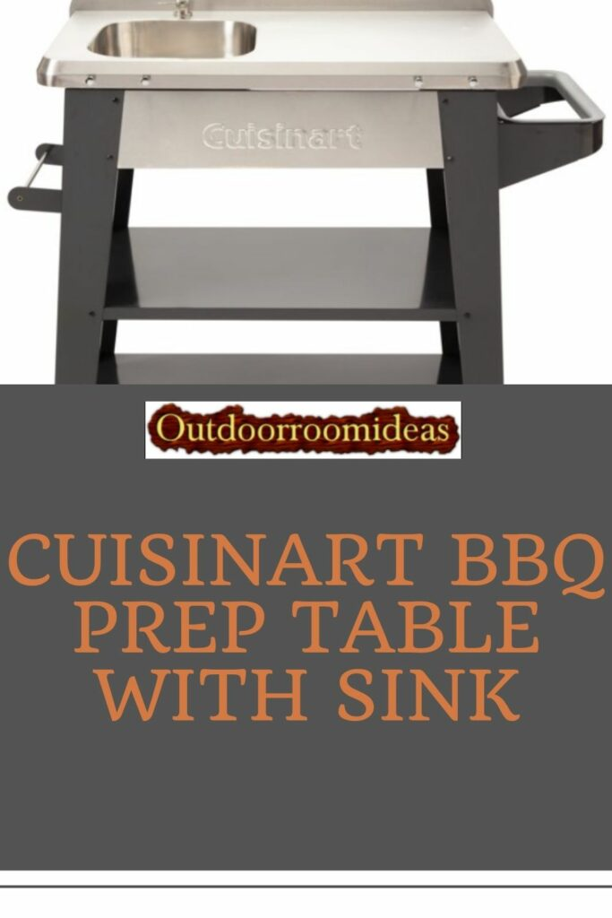 Cuisinart BBQ Prep Table