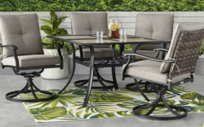 Better Homes & Gardens Elmdale Dining Patio Furniture with Cushions Review