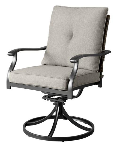 Elmdale swivel dining chair