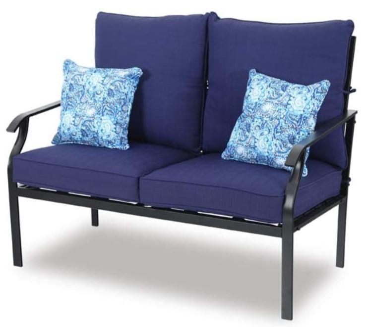 Deep Seating Patio Furniture-MF Studio love seat