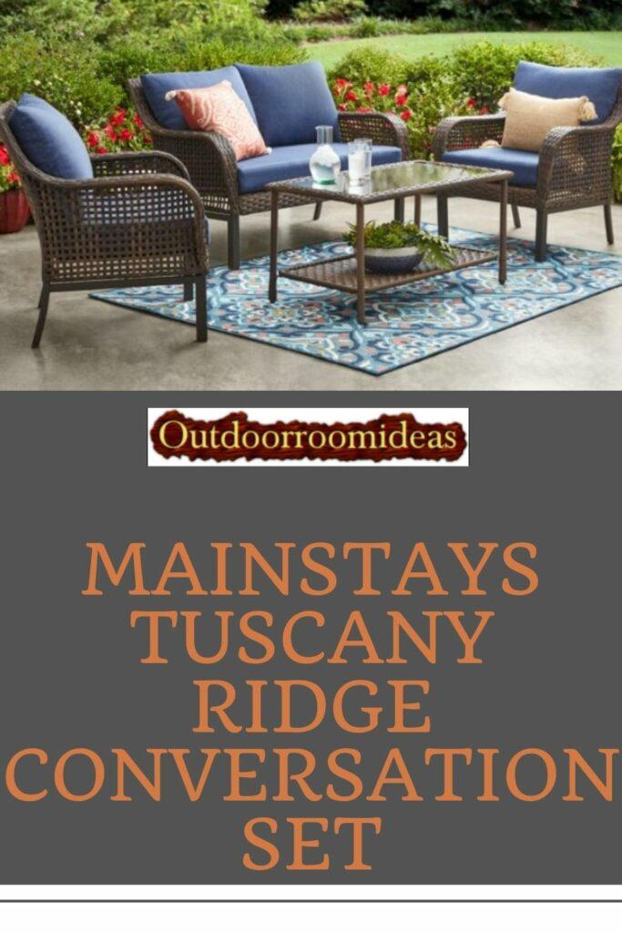 Mainstays Tuscany Ridge