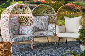 Ventura Kids Egg Chair three cushion colors